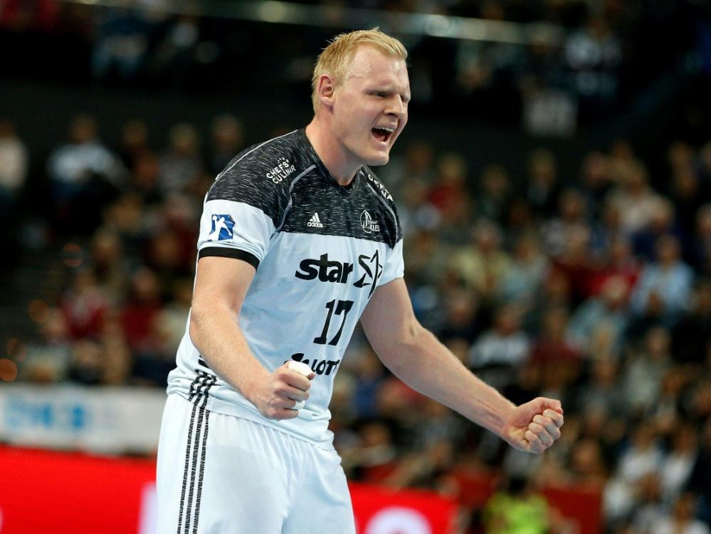 Patrick Wiencek war mit neun Toren bester Kieler Werfer
