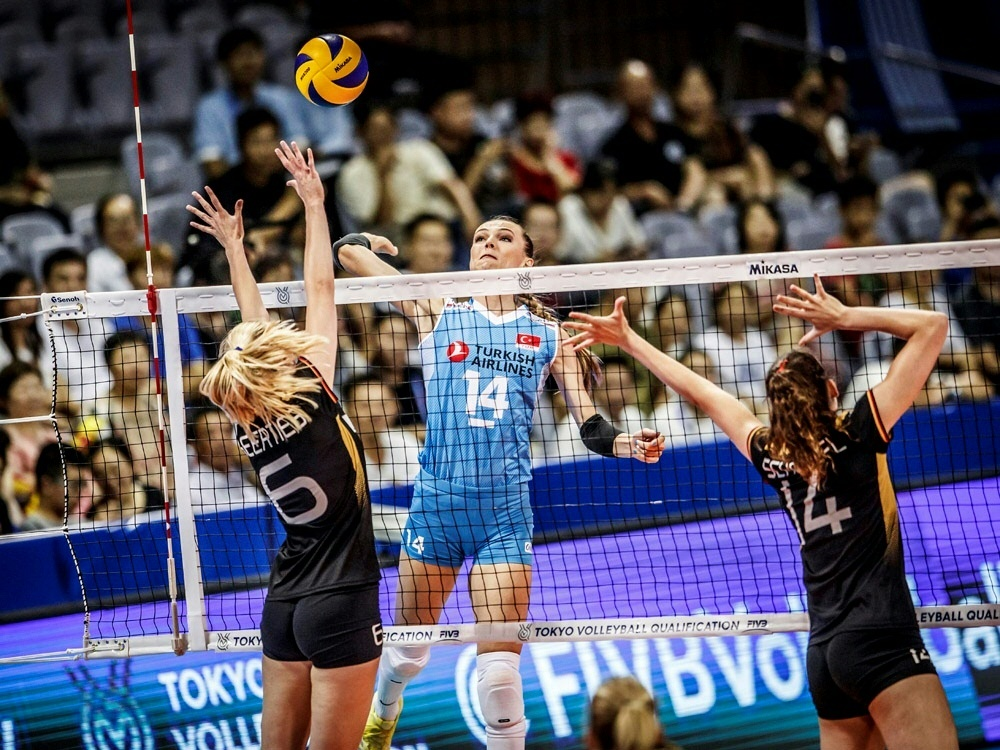 Die DVV-Damen verlieren mit 1:3 gegen die Türkei