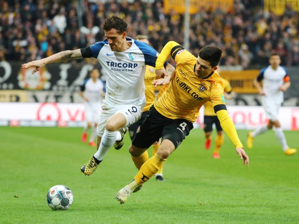 Jannis Nikolaou (r.) verstärkt den Aufsteiger Eintracht Braunschweig