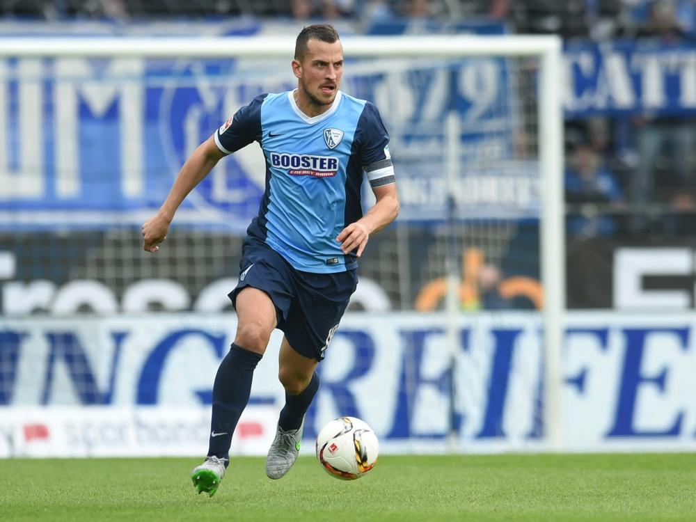 Bochum konnte Kapitän Fabian langfristig an sich binden