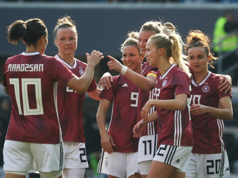Auch die DFB-Frauen sind bei der WM am Start