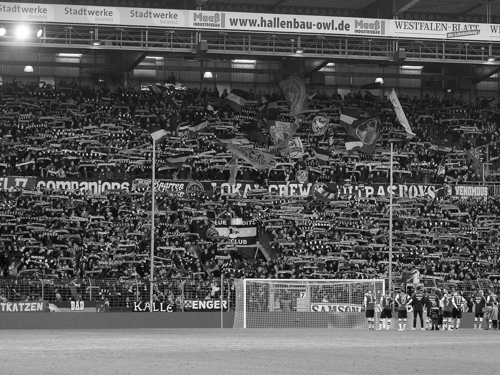 Buttkus war seit 1983 Stadionsprecher der Arminia