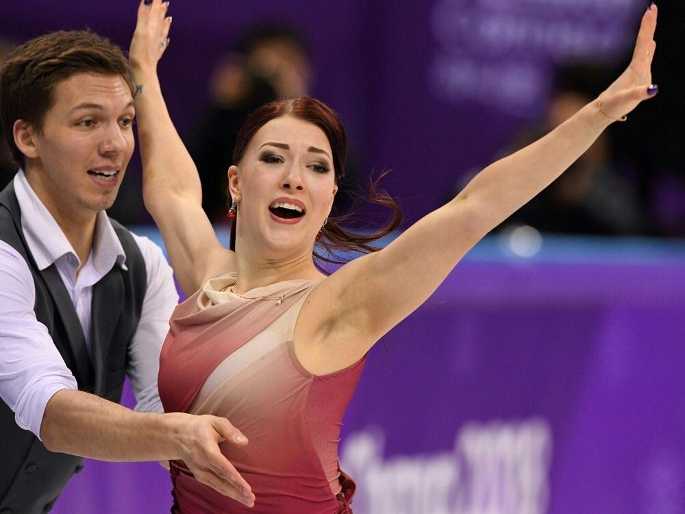 Eistänzerin Ekaterina Bobrova hat ihre Karriere beendet