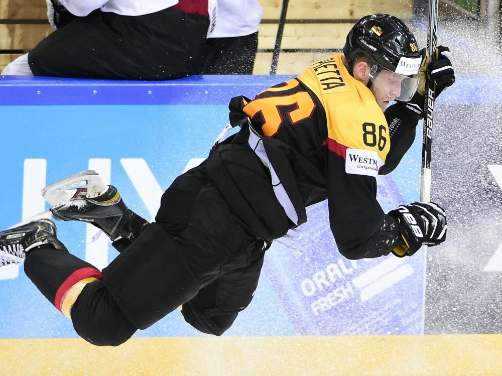 Eishockey-Nationalspieler Daniel Pietta will bis 40 spielen