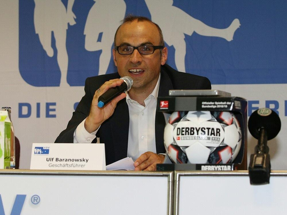 VDV-Geschäftsführer Baranowsky kritisiert Spielerberater