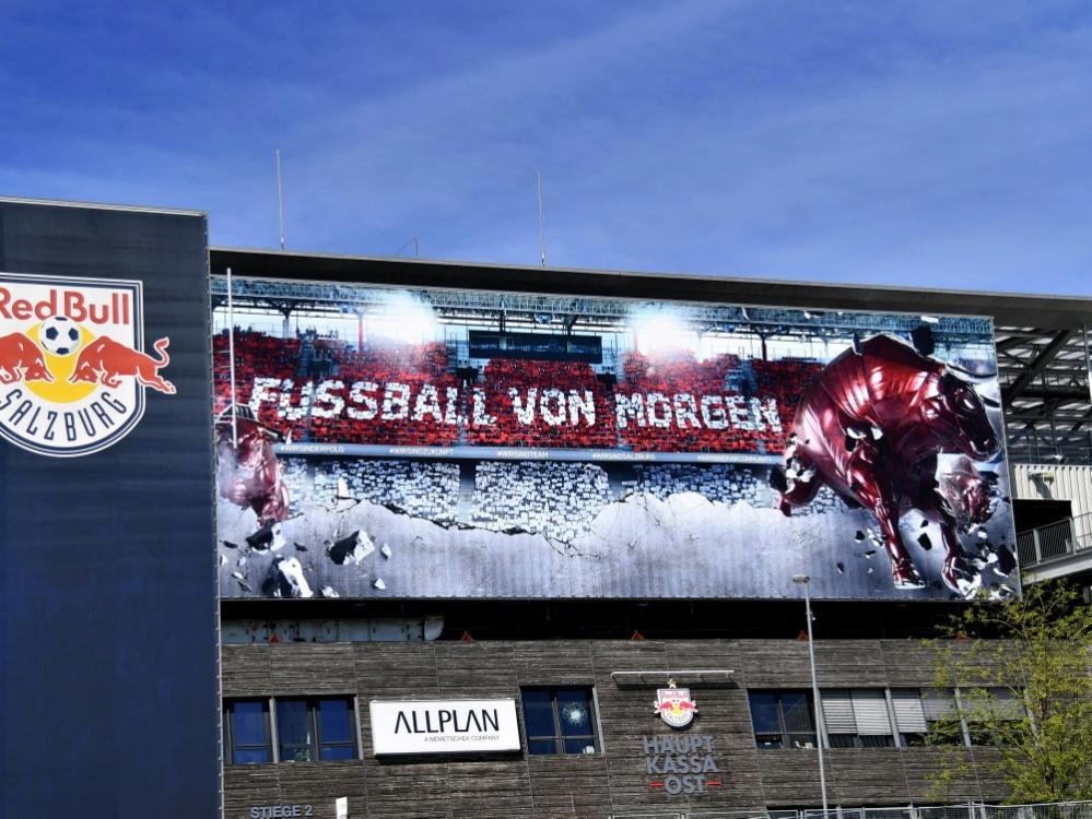 Auch RB Salzburg kämpft gegen das Coronavirus