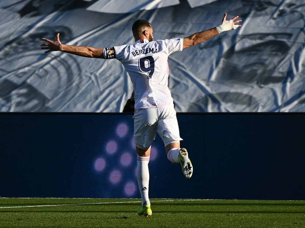 Matchwinner: Karim Benzema trifft gegen Elche doppelt