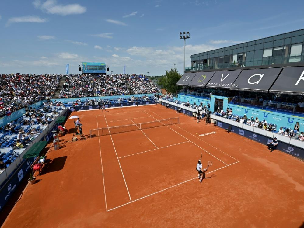 WTA-Turnier in Prag vor knapp 2000 Zuschauern