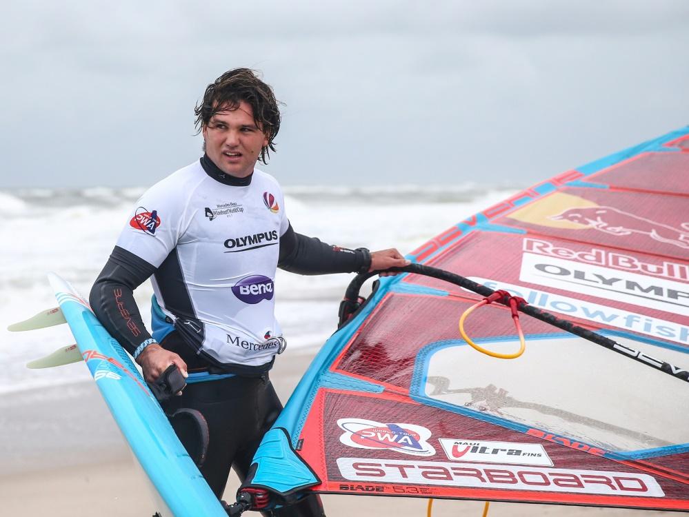 Will seinen fünften WM-Titel: Windsurfer Philip Köster