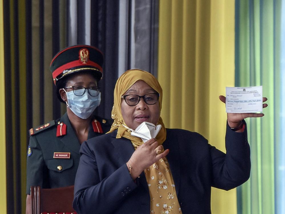 Suluhu Hassan erhält für ihre Äußerungen starke Kritik