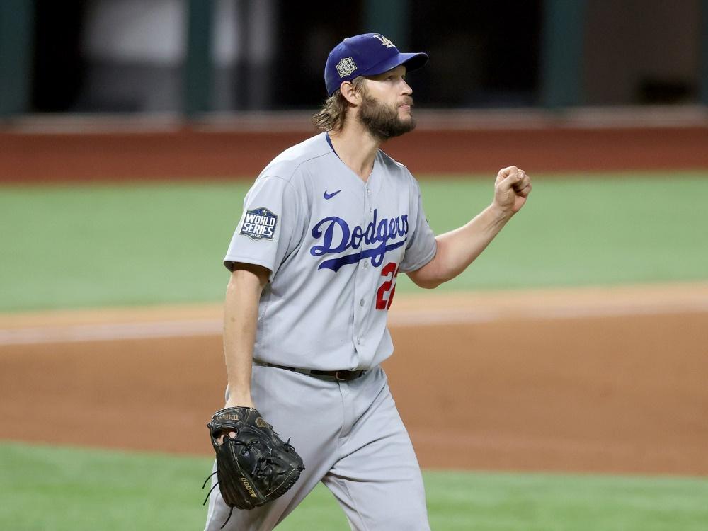 Zwei Matchbälle für Clayton Kershaw und die Dodgers