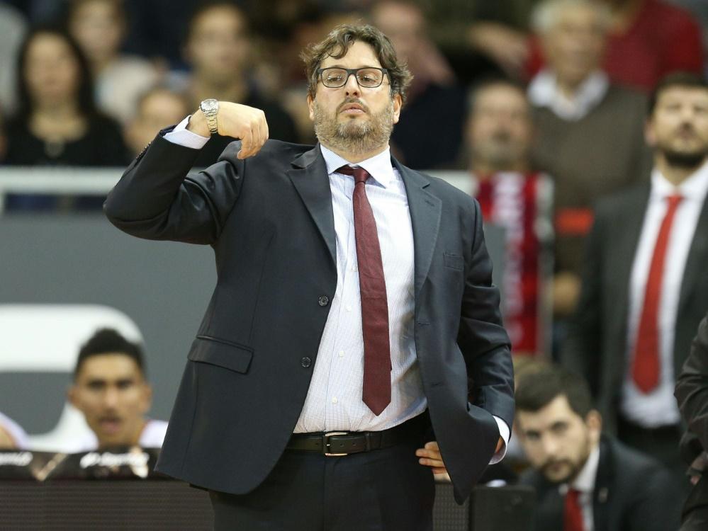 Trinchieri holte 2017 mit Bamberg sogar zum Double