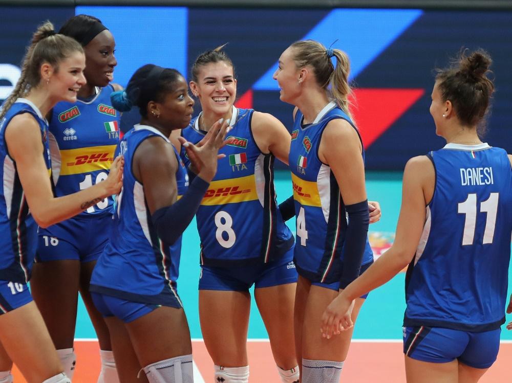 Italien zeiht ins Finale der Volleyball-EM ein