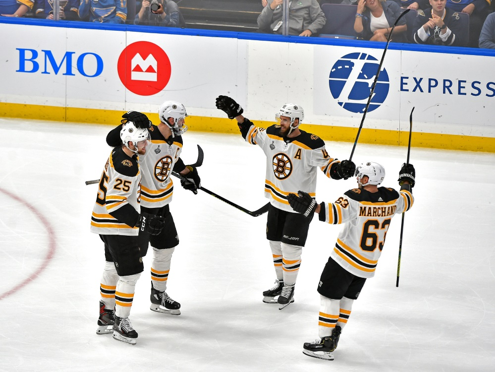 Bruins-Jubel nach Sieg in St. Louis