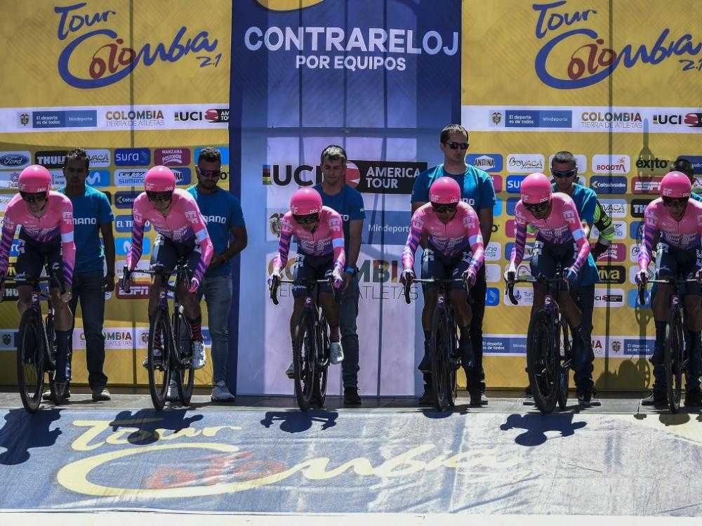 Villalobos steht bei EF Pro Cycling unter Vertrag