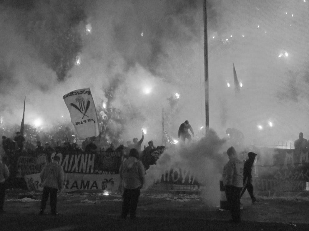 In Griechenland ruht nach Fan-Tod der Ball