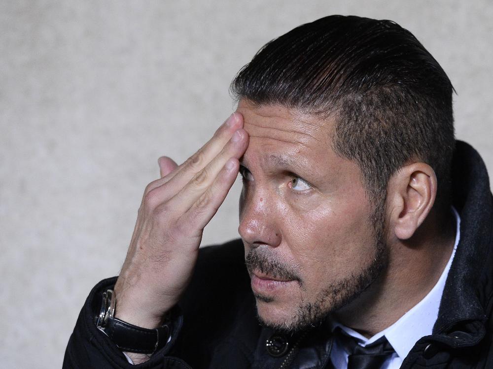 Diego Simeone entgeht mit Atlético einer Blamage im Pokal