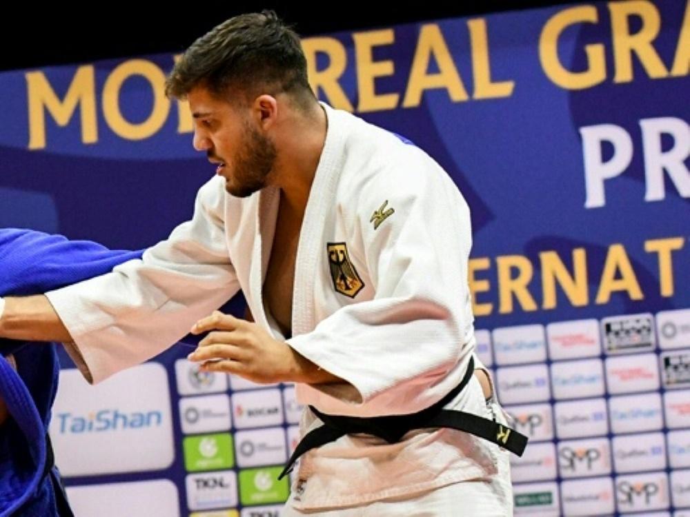 Johannes Frey holte beim Grand Slam in Düsseldorf Silber