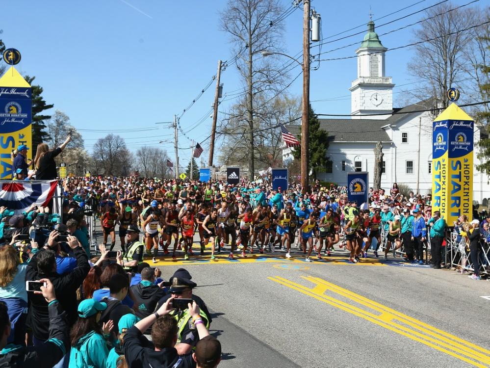 Der Boston-Marathon wurde erstmals abgesagt