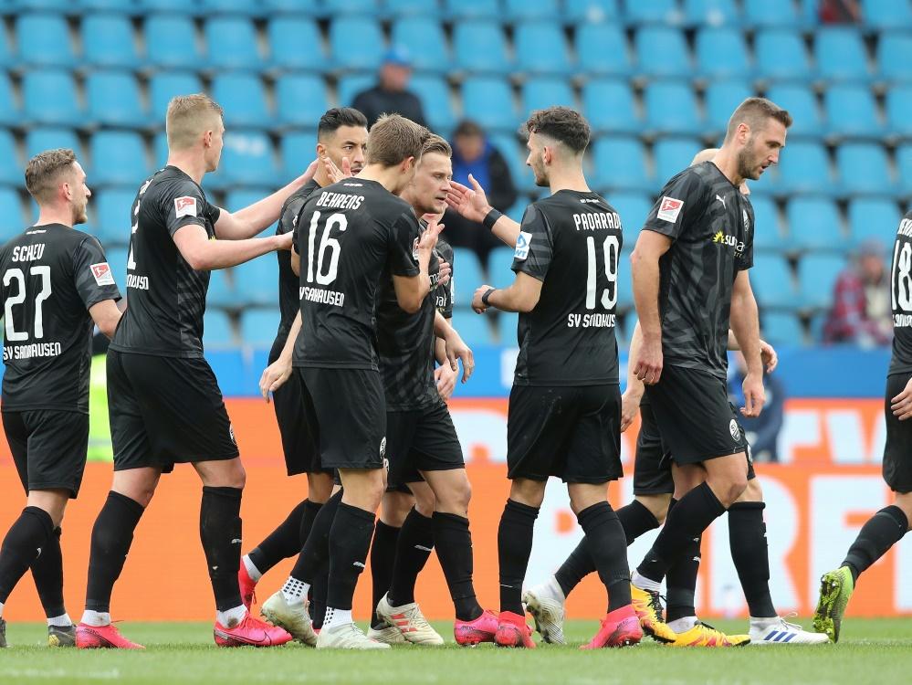 Piegsa und Kabaca verlängern beim SV Sandhausen
