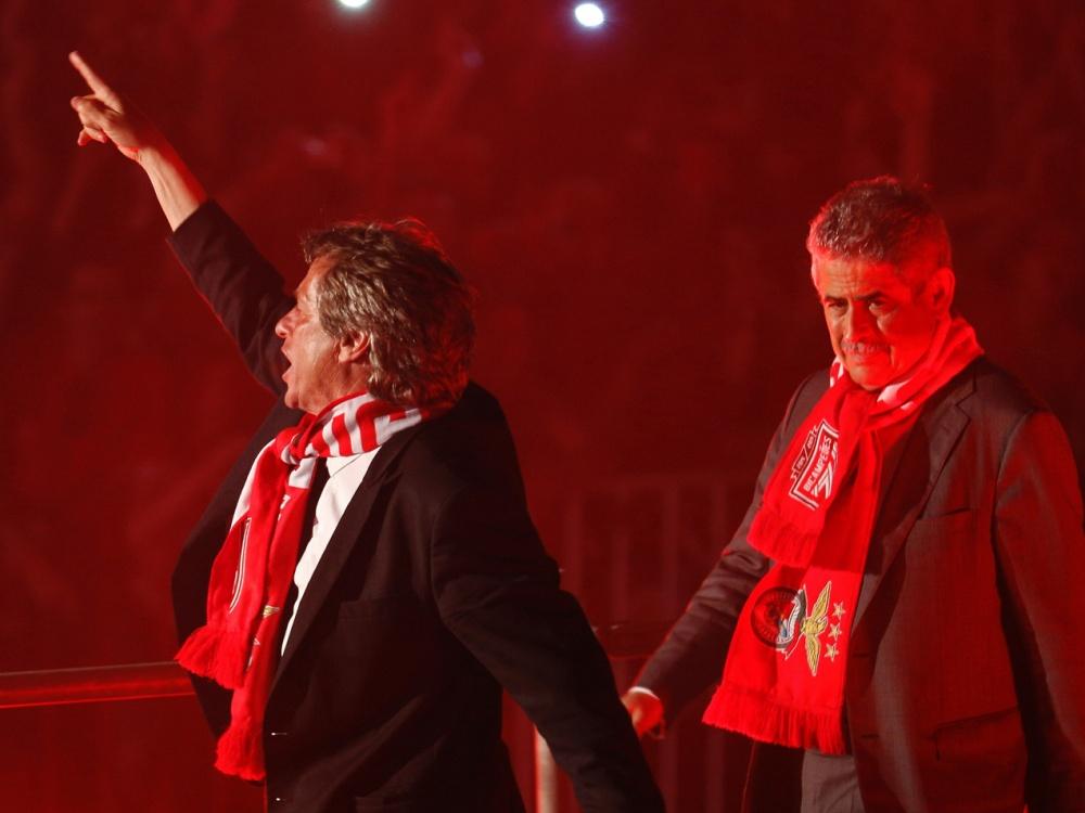 Die Wiederwahl von Vieira (rechts) war eine Überraschung