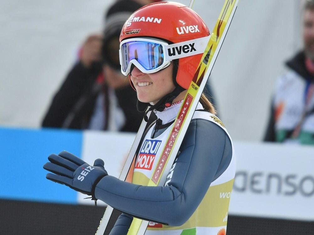 Katharina Althaus wurde Sechste