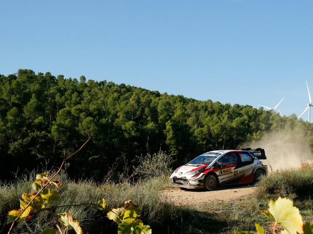 Ott Tänak distanziert Loeb in Spanien