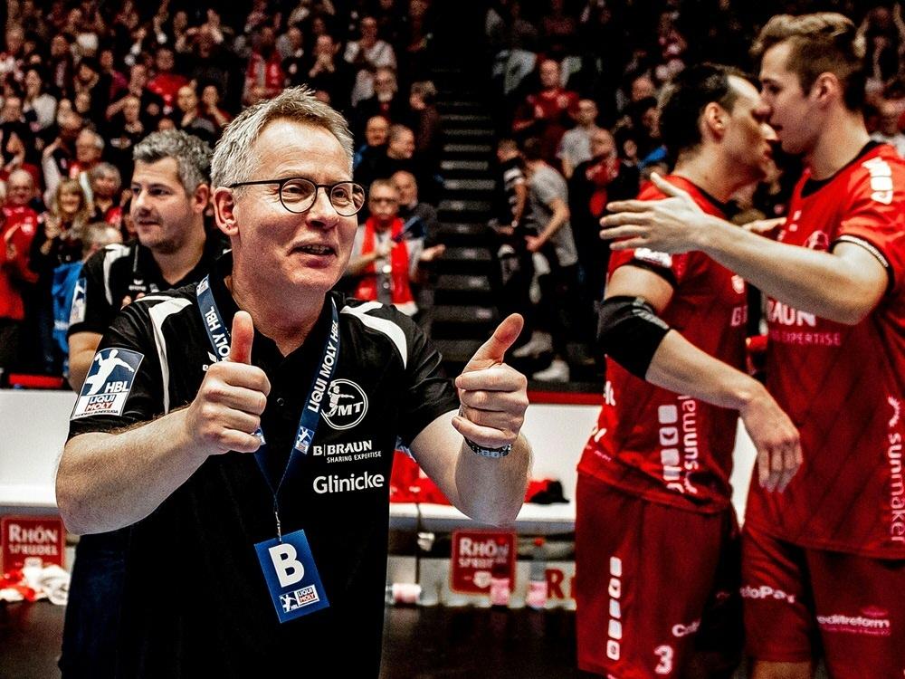 Freude bei Gudmundsson - Melsungen in European League