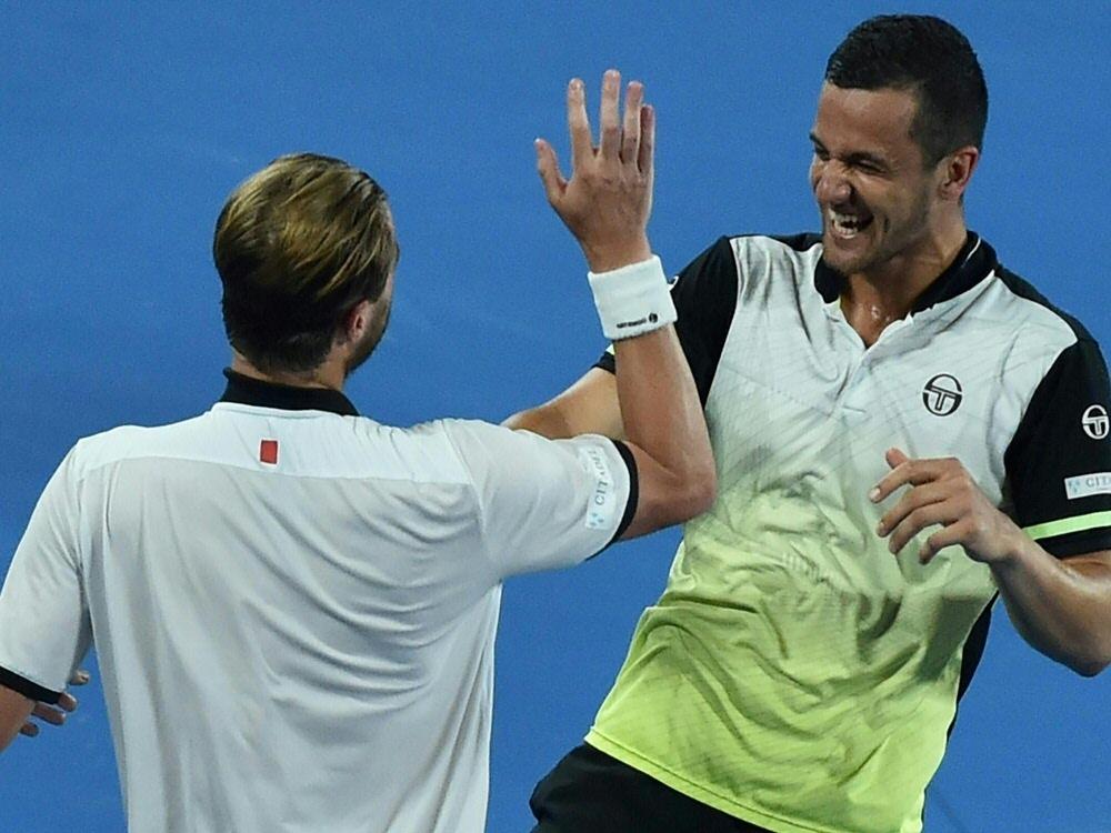 Doppel: Marach (l.) und Pavic (r.) gewinnen in Melbourne