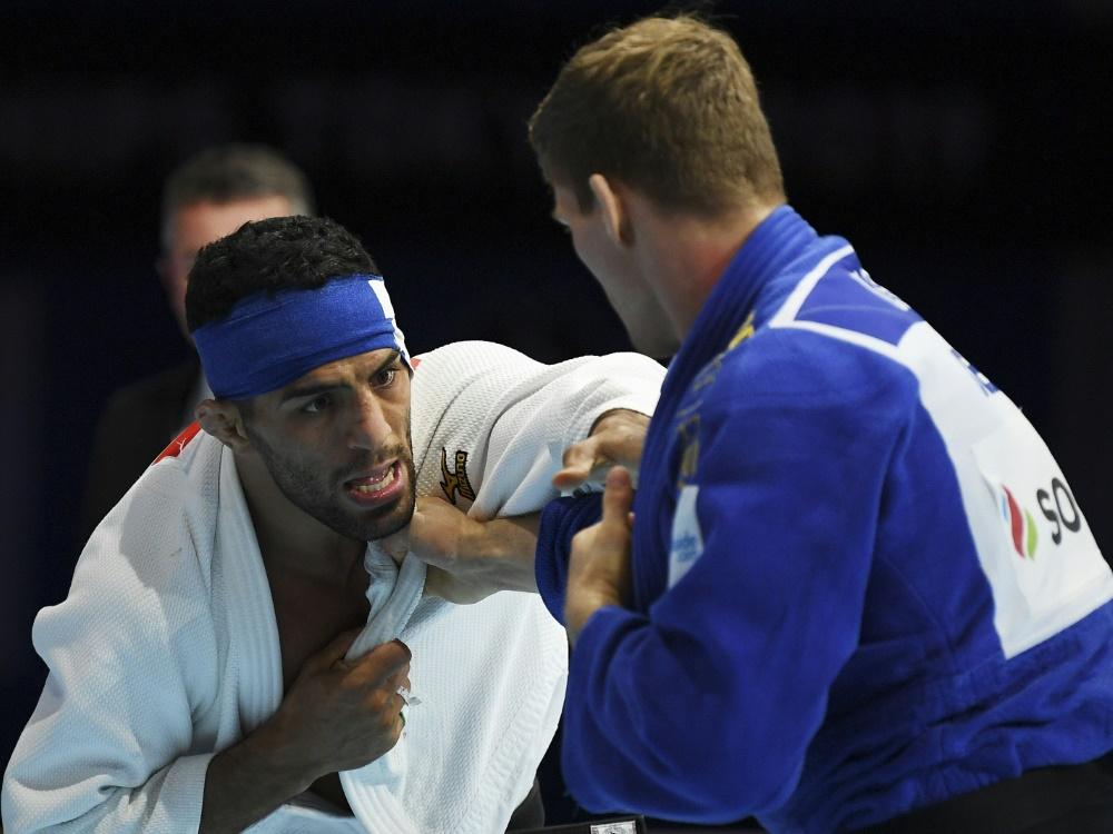 Saeid Mollaei (l.) hat in der Judo-Szene einen Aufschrei ausgelöst