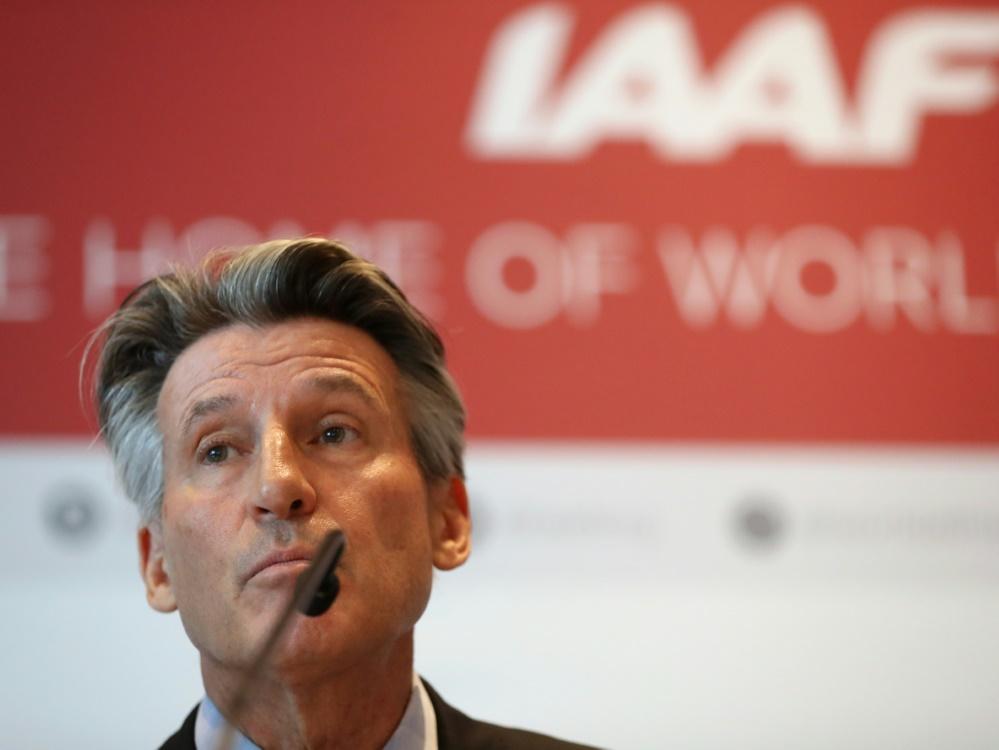 Sebastian Coe hofft auf eine Umbenennung der IAAF