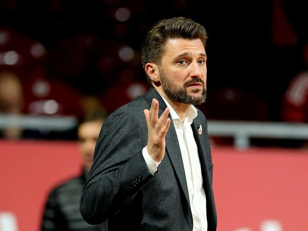 Marko Pesic erwartet von der Mannschaft eine Steigerung