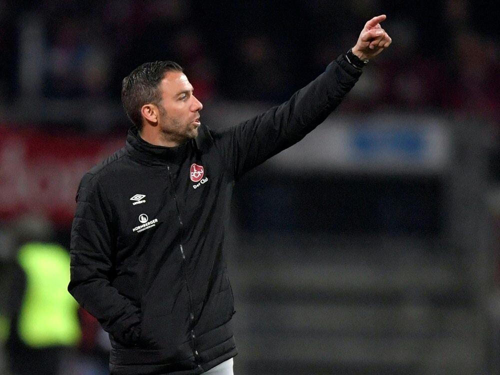 Boris Schommers glaubt noch an den Klassenerhalt des 1. FC Nürnberg