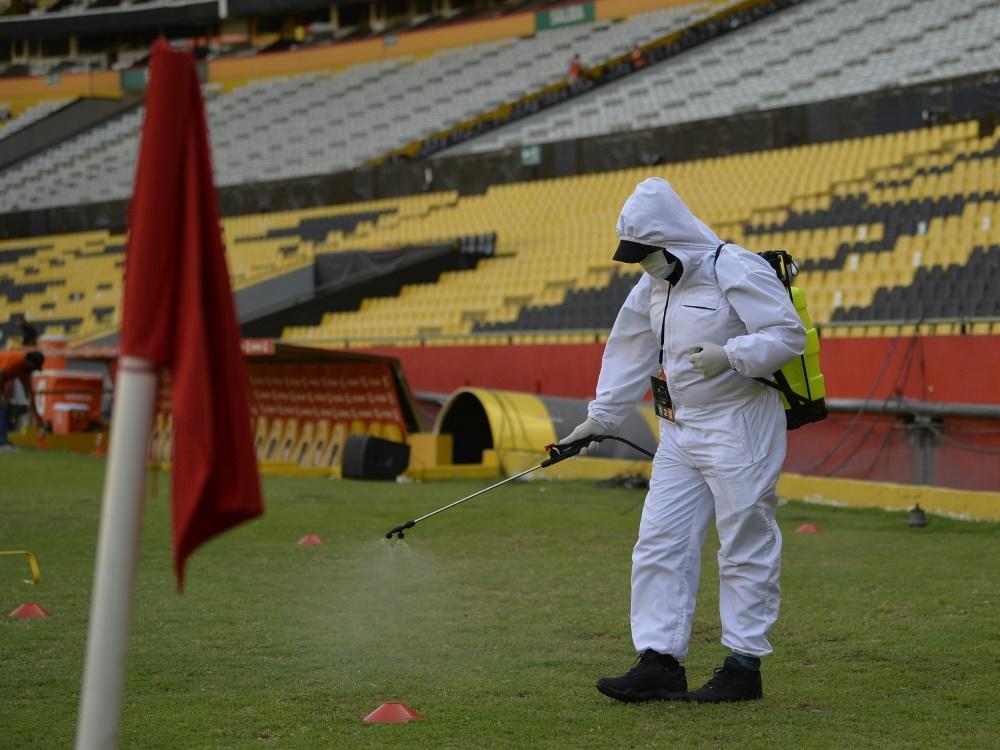 Trotz vieler Infektionen im Team muss Flamengo spielen