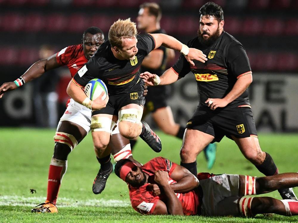 Die deutsche Mannschaft gewinnt deutlich gegen Kenia