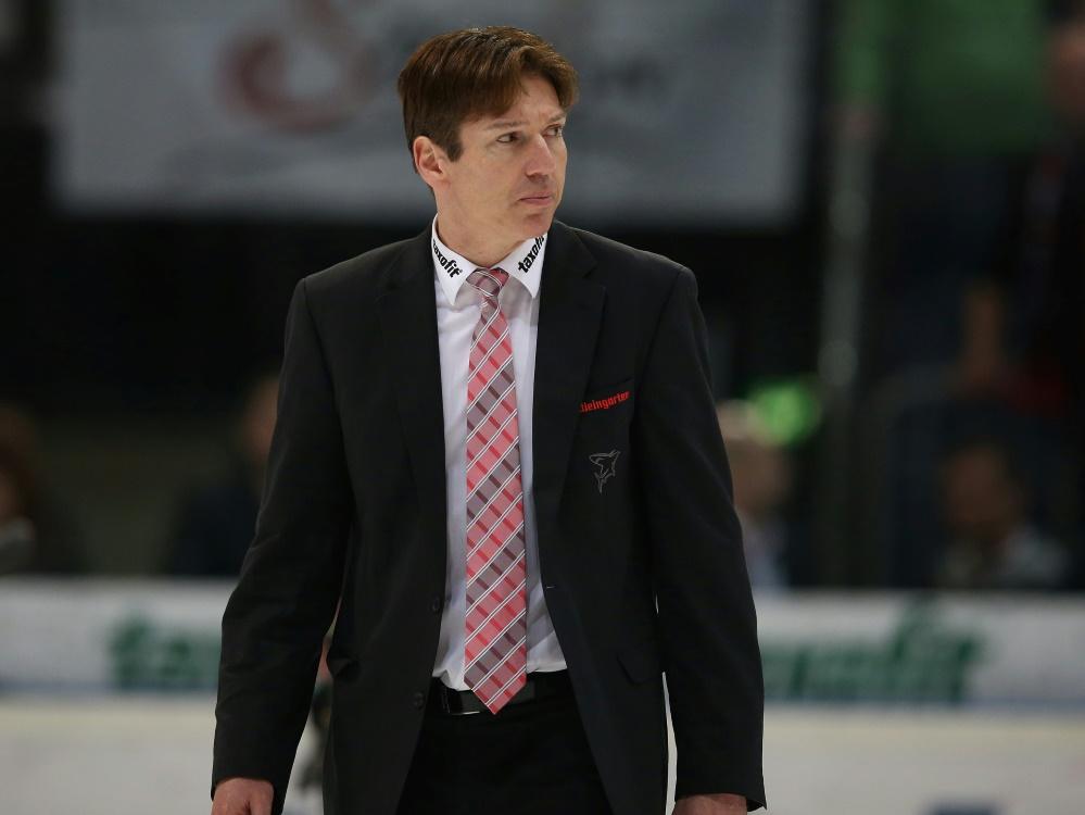 Uwe Krupp war bereits von 2011 bis 2014 Trainer der Haie
