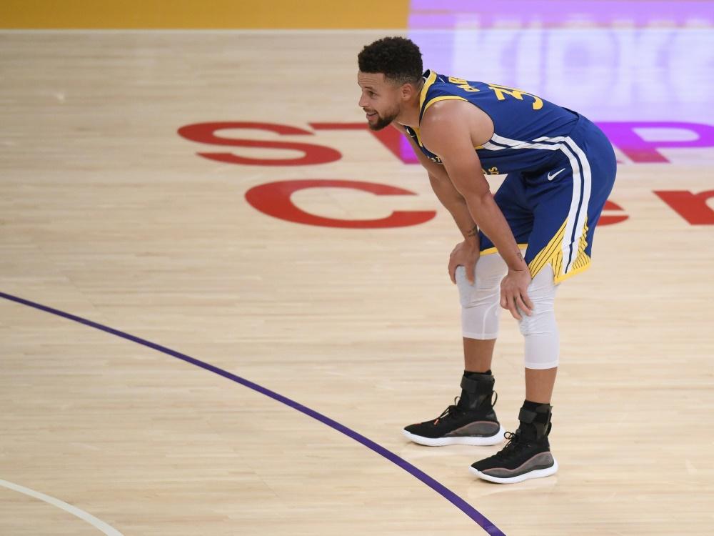 Zweitbester Distanzschütze der NBA: Stephen Curry