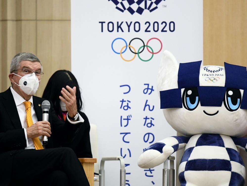 Trotz Corona:Japan will die Olympischen Spiele austragen