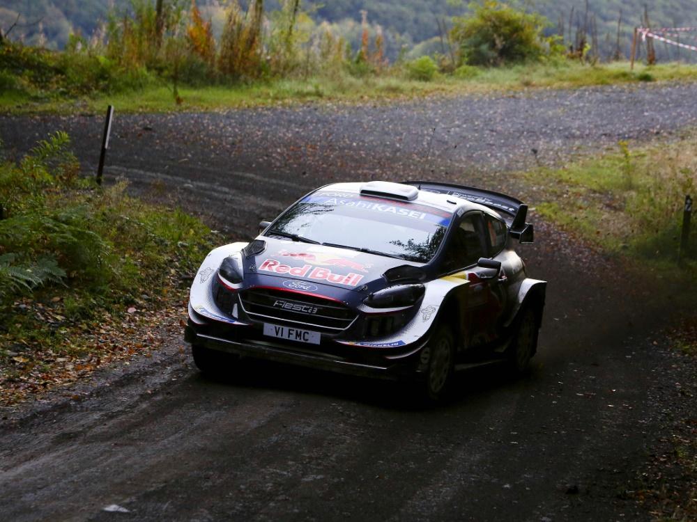 Sebastien Ogier siegte bei der Rallye in Wales