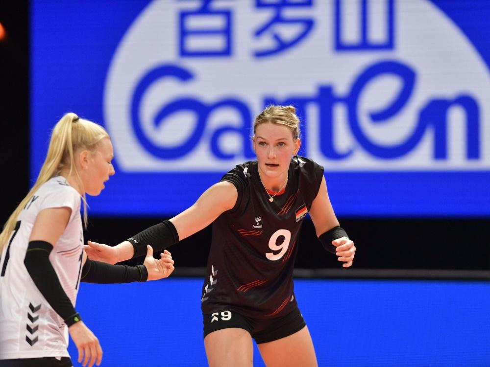 Pleite für die deutschen Volleyballerinnen gegen Japan
