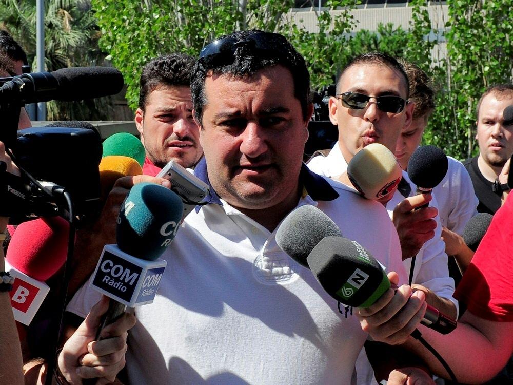 Spielerberater Mino Raiola wurde von der FIFA gesperrt