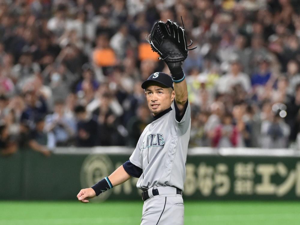 Ichiro Suzuki war seit 2001 in der MLB aktiv