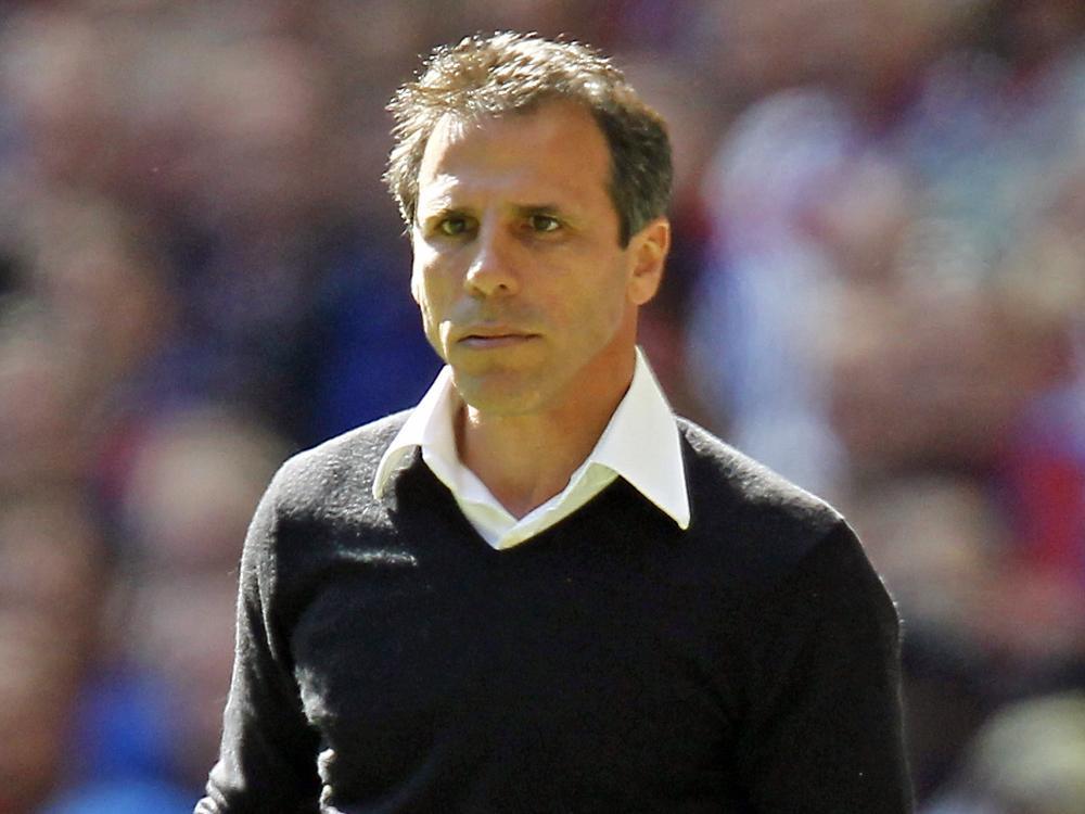 Cagliari Calcio entlässt Trainer Gianfranco Zola