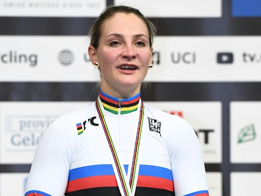Vogel wird als Radsportlerin des Jahres ausgezeichnet