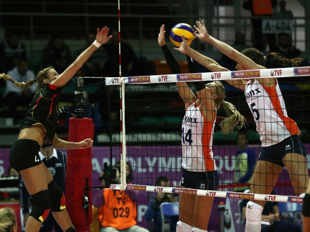 Deutschlands Volleyballerinnen testen vor EM gegen Polen