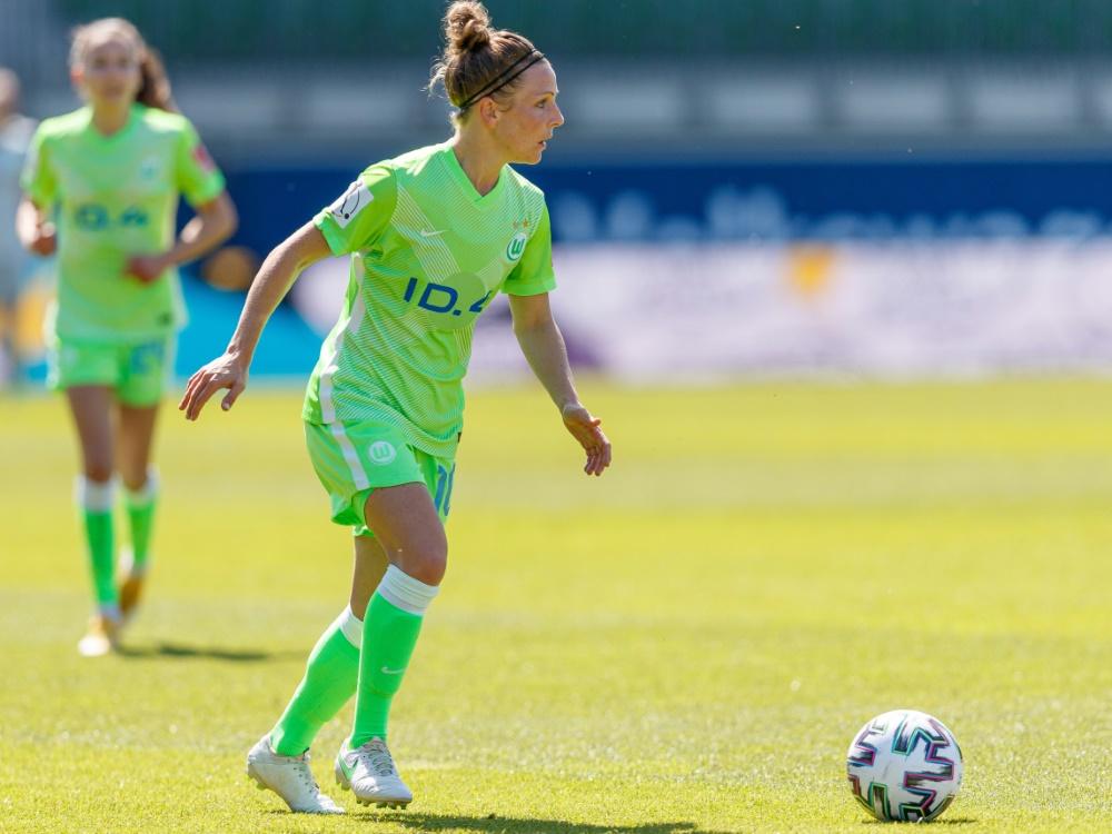 Svenja Huth brachte Wolfsburg in Führung