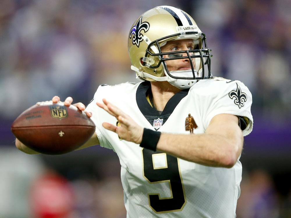 Drew Brees bleibt den Saints zwei weitere Jahre treu