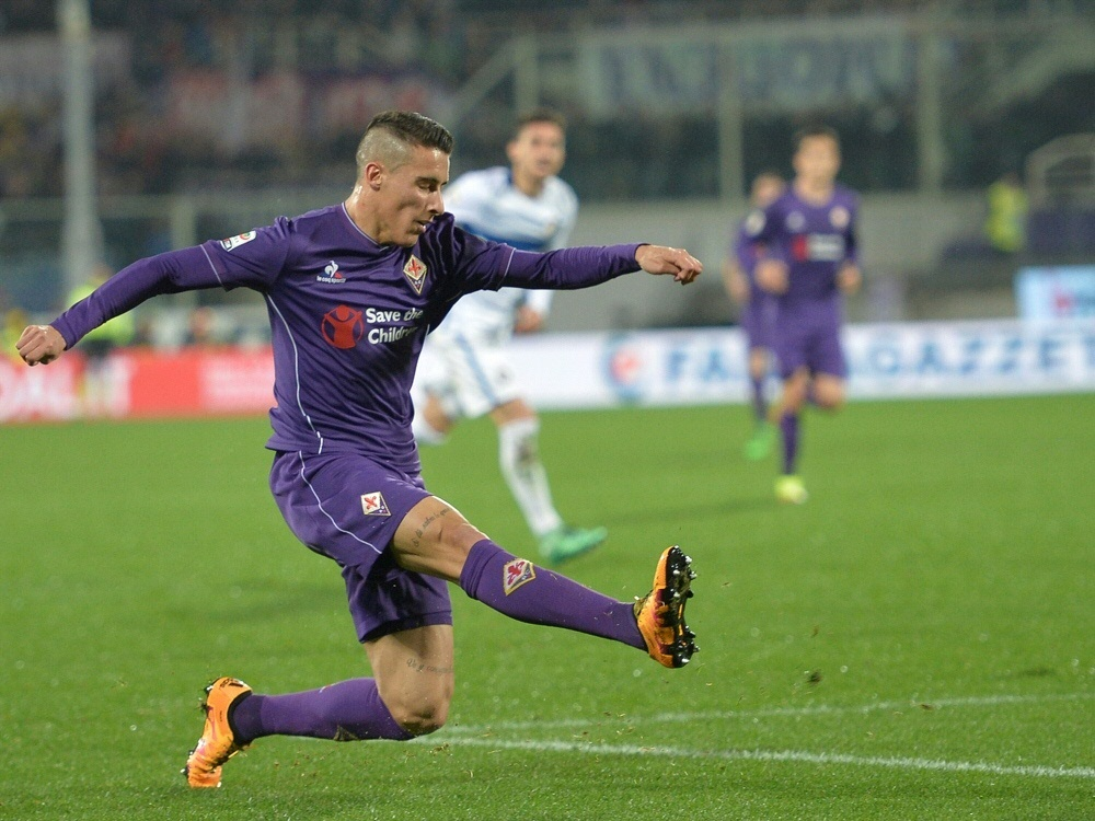 Cristian Tello rettete der Fiorentina gegen Pescara den Sieg
