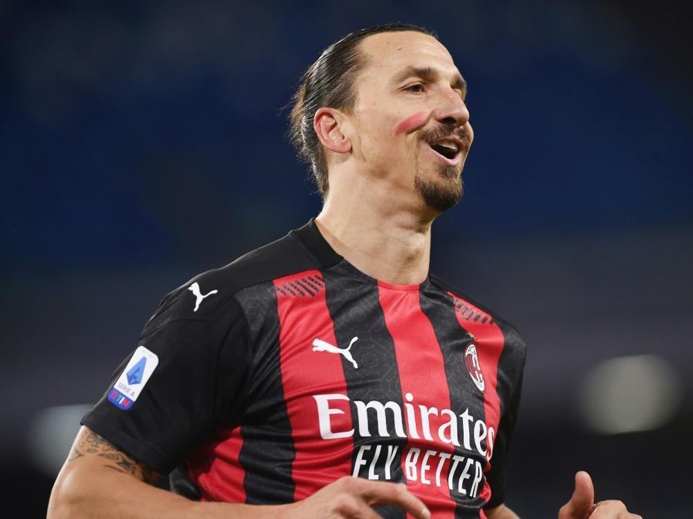 Zlatan Ibrahimovic meldete sich mit Doppelpack zurück
