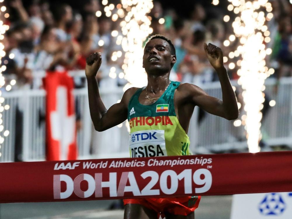 Desisa siegte im Marathon